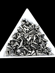 Lovely Mental 4*6mm Mini Rivet Black Nail Jewelry (100PCS)