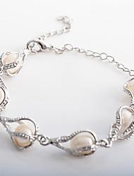 en forme de goutte d'eau de bijoux bracelet de perles de lureme®women