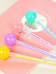 Bonito-Plástico-Plumas de gel
