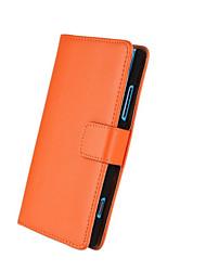 твердый образец цвета из натуральной кожи всего тела чехол с подставкой и слот для карт памяти для Nokia Lumia 920
