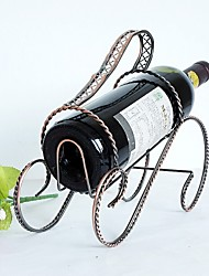 Practical Modern Style Wine Bottle Holder Hanger Red Wine Rack Support Bracket Popular Bar Decor