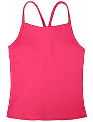 Girl's Black / Green / Orange / Pink / White Tee,Dresswear Cotton Summer