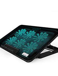 pad six ventilateurs ergonomique réglable refroidisseur de refroidissement avec support stand pc portable ordinateur portable