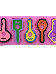 Key Shaped Silicone Fondant Cake Cake Chocolate Silicone Molds,Decoration Tools Bakeware