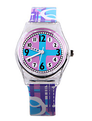 Fashion Colorful Plastic Children's Watch Cool Watches Unique Watches