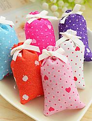 sac à main parfumée aux herbes intérieures idées cadeaux en tissu naturel (couleur aléatoire)