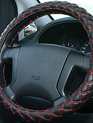 M Model Wine Steering Wheel Cover for Four Seasons Beige Gray and Black