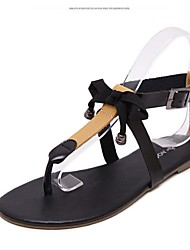 Women's Shoes Flat Heel Gladiator Sandals Dress / Casual Black / Silver
