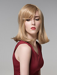Charming kinky Straight Long Remy Hand Tied-Top Capless Hair Wig