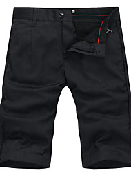 Lesmart Men's Shorts Pants Black / Gray-LW13339