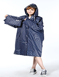 EVA Raincoat Fashion Cute Girls Thick Coat Adult Raincoat / Poncho