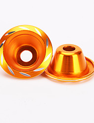 IZTOSS 2x Tone Fork Cup Front Wheel Drop Resistance Cups for Motorbike