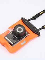 caja seca material de PVC resistente al agua para iPhone / Samsung y el otro teléfono celular 15 * 12 * 5 (colores aleatorios)