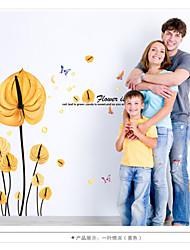 Animaux / Botanique / Floral Stickers muraux Stickers avion,pvc 60*90cm