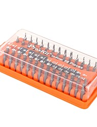 Pro'sKit® 58pcs 58-in-1 Precision Screwdriver Set Screw Driver Bits Kit Torx Hex Hand Tool