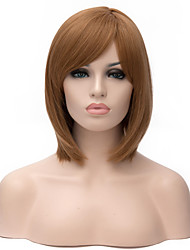 Ms In Europe and The New Golden Brown Short Hair Synthetic Wigs