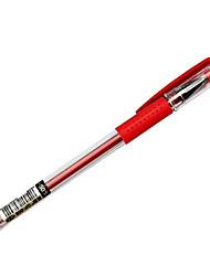 0,5 пластиковые бизнес гелевые ручки (12шт)