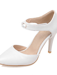 Women's Shoes Stiletto Heel Pointed Toe Sandals Wedding / Party & Evening / DressGreen / Pink / White /