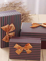 3 Piece/Set Favor Holder-Cubic Card Paper Gift Boxes Non-personalised