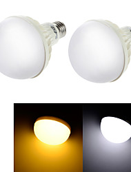 YouOKLight® 2PCS E27 5W CRI>70 9*SMD5630 400LM  Cold White 6000K  Warm White 3000K LED Globe Bulbs (AC 220V)