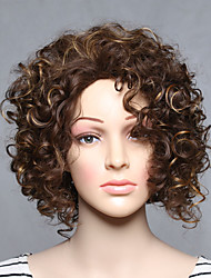 Fashion Synthetic Wigs Blonde Curly Style Top Quality Wigs