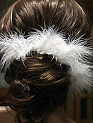 The Bride Wedding Hair White Feather Hair U Sell Like Hot Cakes Hairpin Crystal Ornaments 10pcs