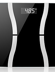 Lincass Smart Body Scale Wireless Bluetooth Fat Digital Precision Scale with Tempered Glass Platform for IOS & Android