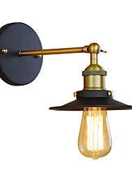 Style mini / Ampoule incluse Chandeliers muraux,Rustique/Campagnard E26/E27 Métal