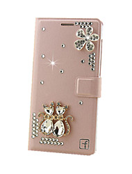 Jewelry Crystal Bling Rhinestone Luxury Wallet Stand Case For Huawei Y6/Honor 4A/Mate S/8/7/Honor 4C/5C/G7/P7