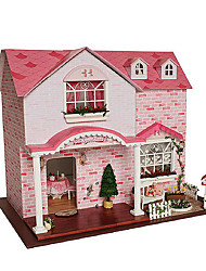 Diy Hut Chi Fun House Pink Sweetheart Handmade House Creative Birthday Gift To Send Girls