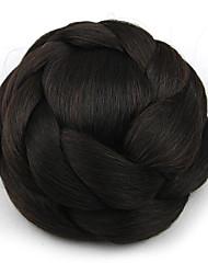 Kinky фигурная черный европы невесты человеческих волос монолитным парики шиньоны SP-161 2/33