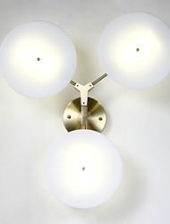 AC 12 40W Интегрированный светодиод Современный Гальванопокрытие Особенность for Мини,Вниз Настенные светильники настенный светильник