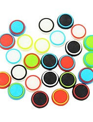 8 X Analog Joystick Button Protector for Sony PS4 Wireless Controller(Random Colors)