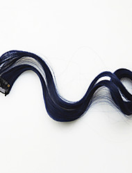 Body Wave Black Synthetic Clip-in Hair ColorLong Hair Wig Hair Extension Piece(2520J)