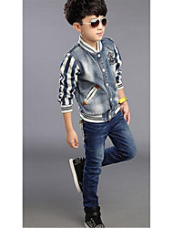 Boy's Cotton Jeans,Spring / Fall Striped
