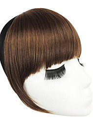 Light Borwn With Hair Hoop Double Temples To Neat Bang(Light Borwn)