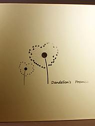 diy 33 * 32,5 cm album fait à la main 18inch album photo 20pcs dorure auto-adhésif - toujours pour la famille / bébé / amants / cadeaux