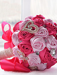 Stunning Wedding Flowers Bridesmaid Bridal Bouquets Artificial Rose Wedding Bouquet (More Colors)