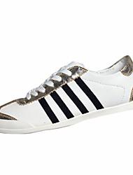 Zapatos de Hombre-Sneakers a la Moda-Casual-Tela-Negro / Rojo