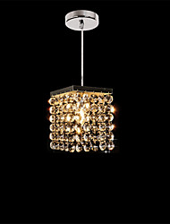 hot sale Modern Led Luxury K9 Crystal Pendant Lights Restaurant,Cafe Entry Hallway mini light Fixture