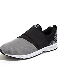 Running Shoes Men's Shoes Casual Tulle Loafers Black / Blue / Gray