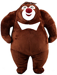 New Bear Bear Two Bald Strong Plush Doll Plush Toy Bear Infested Bear Setsurei Wind Stuffed Bear Large 38Cm