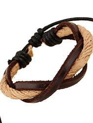 Unisex Leather Handcrafted Vintage Bracelets