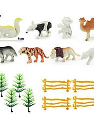 экологической науки и твердое имитационная модель диких животных расставить декоративные элементы статические игрушки смолы для детей