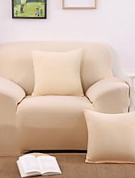 Beige Elastique Anti-acariens Moderne Housse de Sofa , Polyester Type de tissu Literie