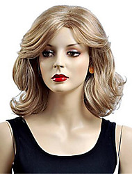 Lady Fashion Synthetic Women Long Bob Wave Hair Wigs New Cosplay Costume Synthetic Hair Wigs