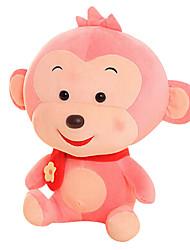 Fubao Monkey Monkey Mascot Zodiac Monkey Puppet Doll Baby Safe Pink Plush Toy 40Cm