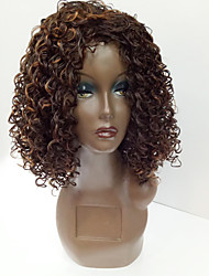 Fashion Synthetic Wigs Multi-color Curly Style Top Quality Wigs