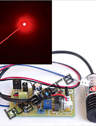Industrial 100mW 650nm 655nm 660nm Red Laser Module Diode with Driver