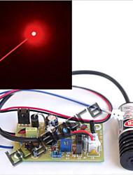 промышленные 100mw 650nm 655nm 660nm красный лазерный диодный модуль с драйвером